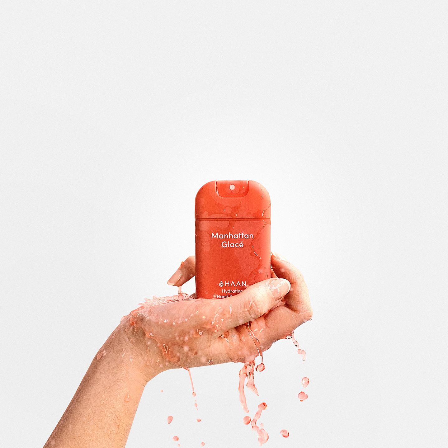 Haan niisutav käte desinfisteerimisvahend Manhattan Glace 10