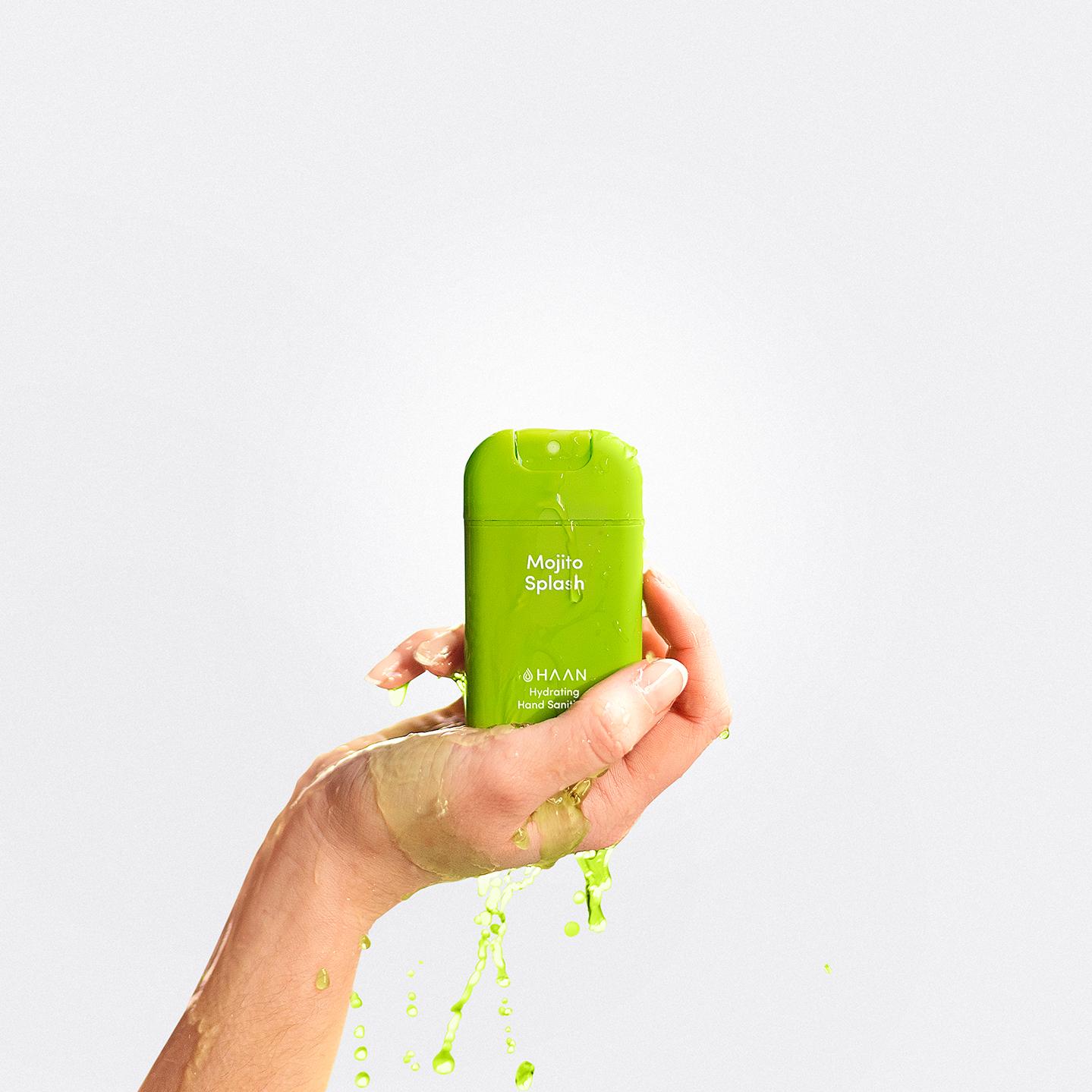 Haan niisutav käte desinfisteerimisvahend Mojito Splash 8