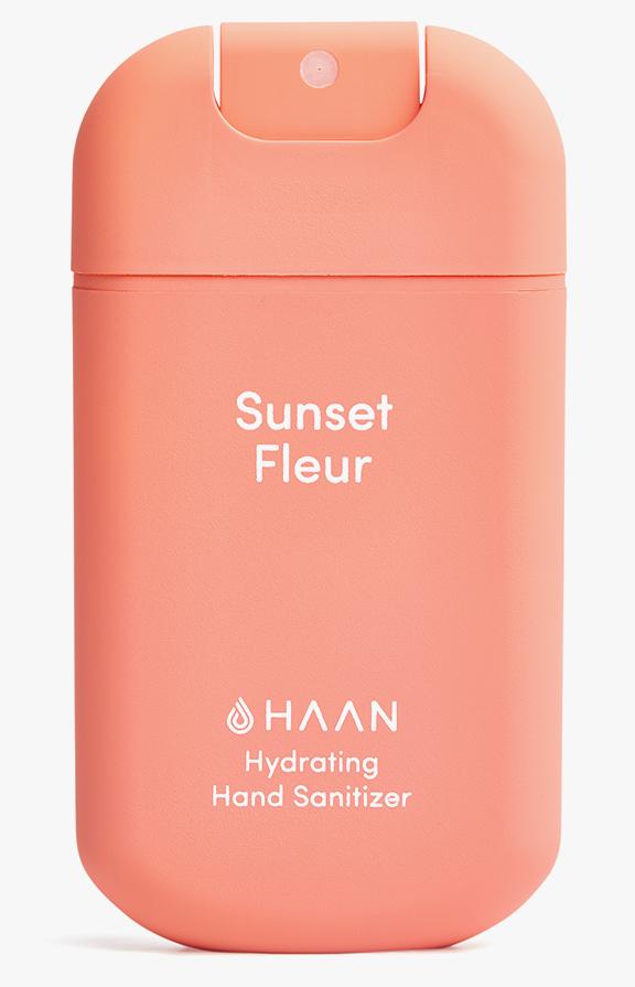 Haan niisutav käte desinfisteerimisvahend Sunset Fleur2
